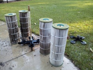 Swimming Pool Filter Cleaning in Peachtree City Fayetteville, and Newnan, GA
